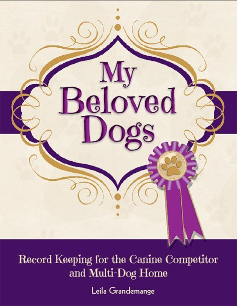 DOG SHOW RECORD KEEPING BOOK