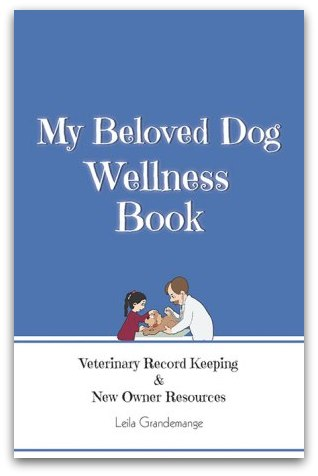 pet health record book leila grandemange